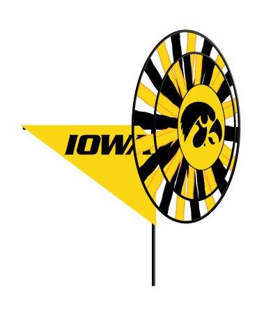 Ncaa Yard Spinner (University of Iowa Hawkeyes - Wind Spinner)