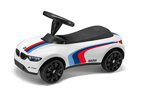 Bobby Car mit Licht - Rutscher mit Licht - BMW Baby Racer 3 Schubstange