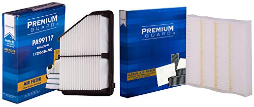 PG Kit Engine Air and Cabin Filter AC1176080| Fits 2016-19 Honda Civic 2.0L