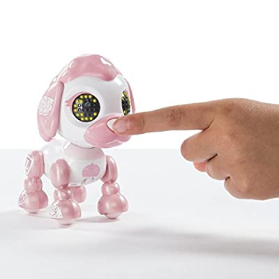 Zoomer Zupps Royal Pups, Empress Poodle, Litter 4 - Interactive Puppy with Lights, Sounds and Sensors: Toys & Games