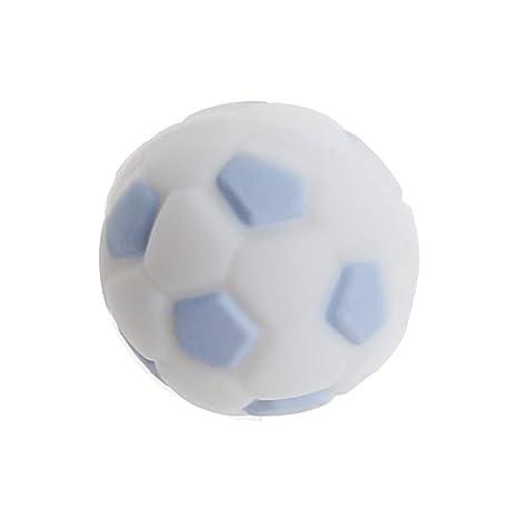 Yinuneronsty Cuentas De Silicona 15mm Baby Teether Fútbol ...