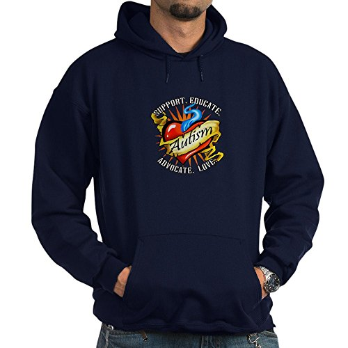 CafePress Autism Classic Tattoo Pullover Hoodie, Classic & Comfortable Hooded Sweatshirt