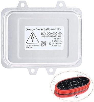 5dv 009 000-00 Yikesai 5DV 009 000-00 Xenon Hid Headlight Ballast Control Unit-for 2007-2014 Cadillac Escalade /& 2006-2009 BMW E60 /& 2008-2014 Chrysler Town Country