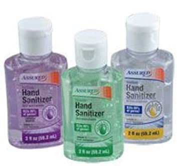 Amazon Com Assured Travel Sized Scented Hand Sanitizers 3pcs