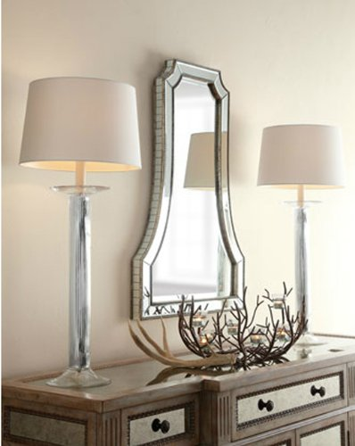 large-curved-designer-wall-mirror-modern-glass-frame-flat-top-arch