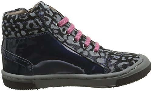 Mod8 Irene 2 - Zapatos de primeros pasos Bebé-Niños Azul - Bleu (Marine imprimé)