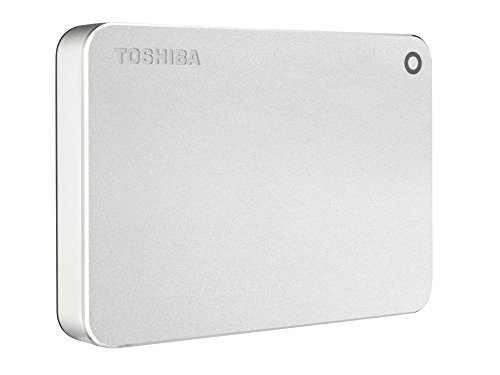 Toshiba Canvio Premium 3TB Portable External Hard Drive USB 3.0, Silver (HDTW230XS3CA) by Toshiba