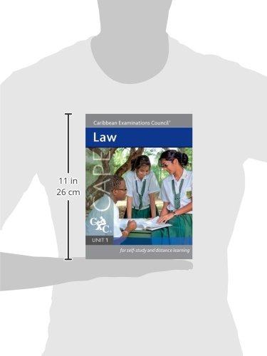 law cape unit 1 a caribbean examinations council study guide rh amazon com Unit 2 Study Guide Answers Unit 2 Chemistry Study Guide