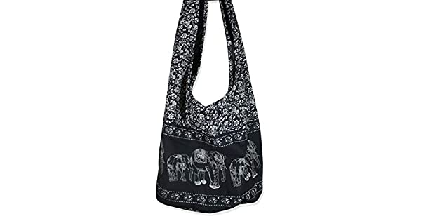 Amazon.com: Thai Hippie Bag bolso cruzado con eslingas con ...