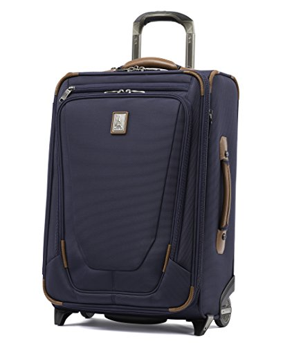 Travelpro Crew 11 22'' Expandable Rollaboard Wheeled Suiter Suitcase, Patriot Blue by Travelpro