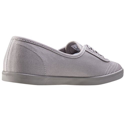 Fred Perry Aubrey Dames Trainers Grijs