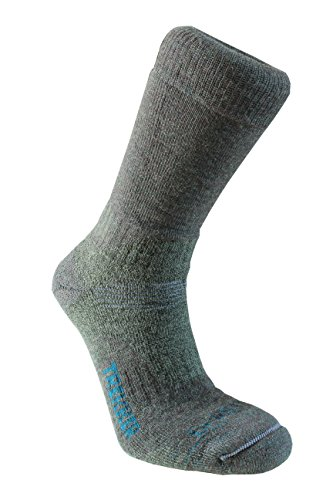 Bridgedale Men's Woolfusion Trekker Socks, X-Large, Dark Green ()