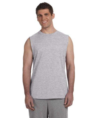 "Gildan Mens Performance Sleeveless T-Shirt / Vest (XL (Chest 46-48"")) (Sport Grey)"