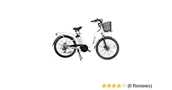 Electric Bicycle Reviews >> Big Cat Electric Bikes Long Beach Cruiser Bicycle 26 Inch One Size Black Wheels