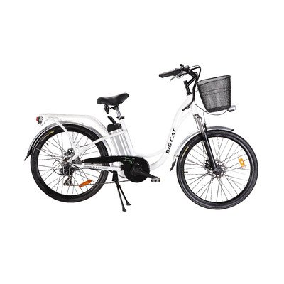 Big Cat Electric Bikes Long Beach Cruiser Bicycle, 26-Inch/One Size, Black Wheels (Wheels 26' Cruiser Bike)