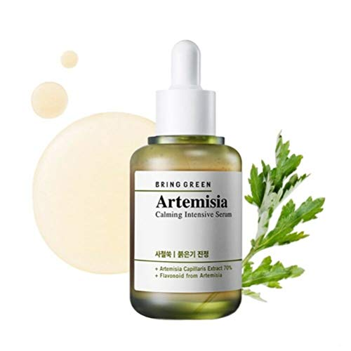 Sensitive Skin Soothing Serum - BRING GREEN Artemisia Calming Intensive Serum 40ml - Redness Relief Skin Soothing & Brightening Serum, Mild Salicylic Acid Formula for Sensitive & Damaged Skin
