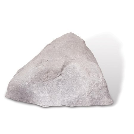 Dekorra Products Boulder Rock, 31-Inch by 26-Inch by 21-Inch, Fieldstone Grey
