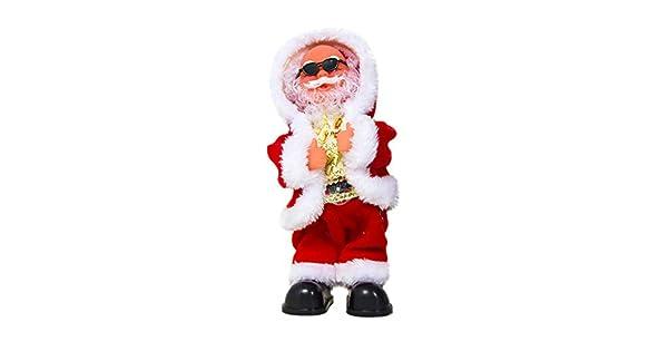 Amazon.com: Lemoning❤ Muñeca de Papá Noel bailando cantando ...