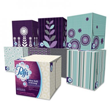 Puffs Ultra Soft & Strong Facial Tissue (24 Pack)