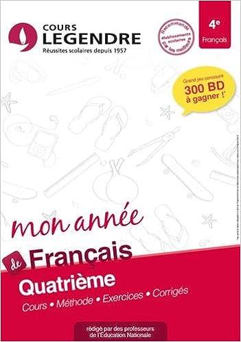 Amazon Fr Francais 4e Cahier De Vacances 4eme Anne