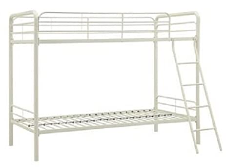 dhp bunk bed with metal frame and ladder space