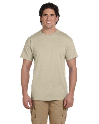 Comfortblend Crewneck - Hanes ComfortBlend EcoSmart Men`s Crewneck T-Shirt Sand