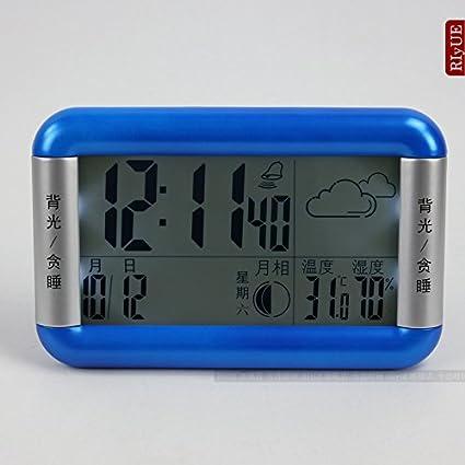Y-Hui onu reloj despertador digital grande Reloj de pared Reloj de cuarzo en el