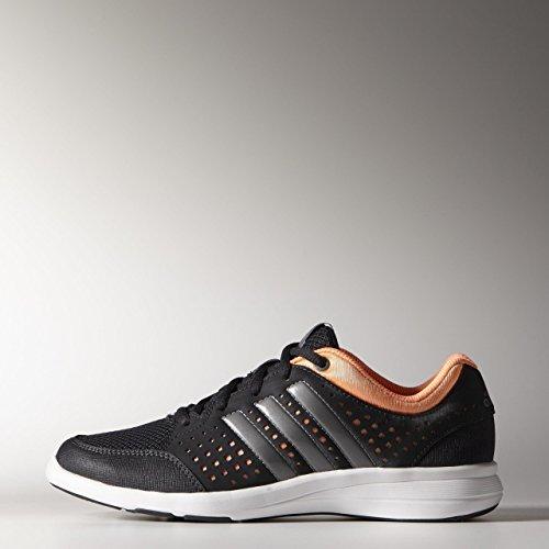 adidas Performance Damen Fitnessschuhe schwarz/neonorange