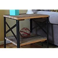 Reclaimed Wood End Table, Amish Handcrafted in Lancaster County, PA | by Urban Legacy