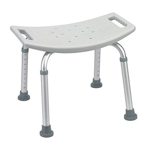 - Drive Medical Bath Bench Without Back, Gray