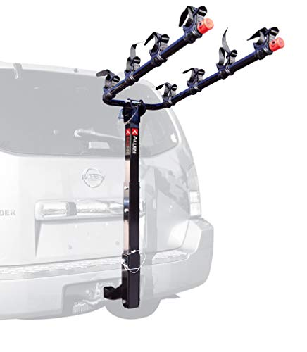 Allen Sports Deluxe 4-Bike Hitch Mount Rack with 2-Inch Receiver (Renewed)