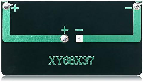 XIEQUN LDTR-WG0096 / B 5 V 60 mA 68 x 37 mm polykristallines Silizium-Solarpanel - SCHWARZ
