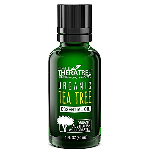 - Organic Wild Crafted Tea Tree Oil - Pure Australian Therapeutic Grade - 100% Genuine Aromatherapy Essential Oil - Natural Care Against Skin Irritation, Acne, and Blemishes plus Hair & Scalp Care