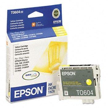 (Epson® Stylus T060120, T060220, T060320, T060420, Ink Cartridge INKCART,F/STYLUSC68/88,YW MS511C-HC (Pack of6))