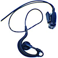 EarHook Surveillance Mic Kit for Vertex Standard VX-231 VX-261 VX-351 VX-450 and EVX Digital Series EJ30 Commercial Series