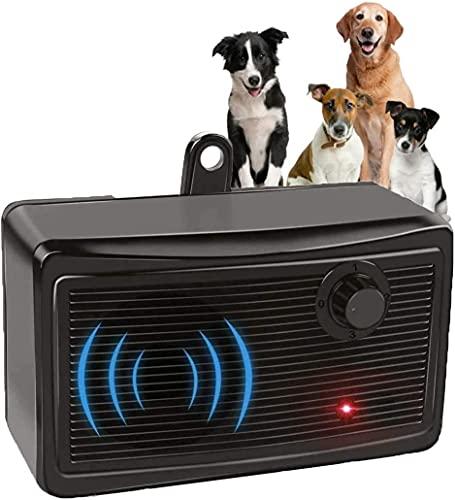 Anti Barking Device, 2-in-1 Bark Control Device and Dog Training, Ultrasonic Dog Barking Deterrent, Waterproof Bark Box…