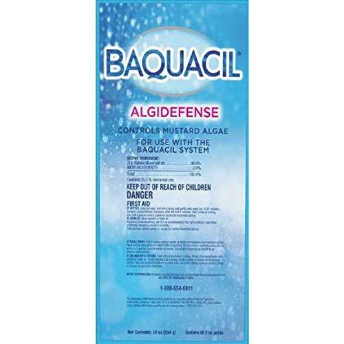 Baquacil 84346 AlgiDefense Algistat Swimming Pool Chemical, Algaecide, Clear ()