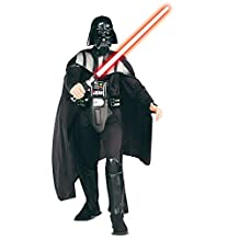 Rubies Costume Star Wars Darth Vader Deluxe Adult, Black