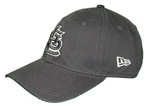 New Era St. Louis Cardinals MLB 9Twenty Twill Core Classic Adjustable Black Hat ()