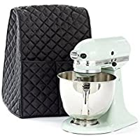 Stand Mixer Dust-proof Cover with Organizer Bag for Kitchen Mixer Best Helper for Housewife & Mother HZC30 (Black)