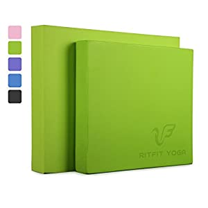 RitFit Balance Foam Pad TPE Non-Slip Balance Pad - Large, XL and Multi Color