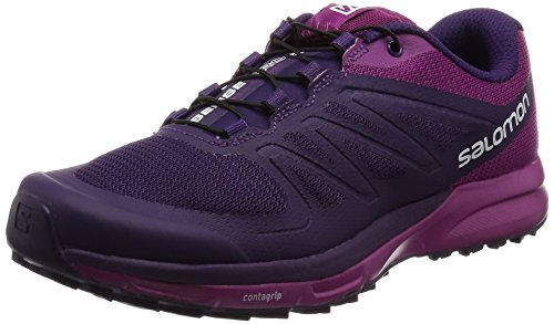 Salomon Damen Sense Pro 2 Laufschuhe Violett (Cosmic Purple/Cosmic Purple/Azalee)