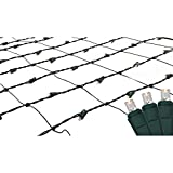 TC Brand 150 Count Warm White LED Net Style Light - 6 x 4 Feet in Box