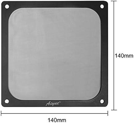 AIYUE 140mm Magnetic Frame PC Fan Dust Filter Dust Filter Fan Filter PC Cooler