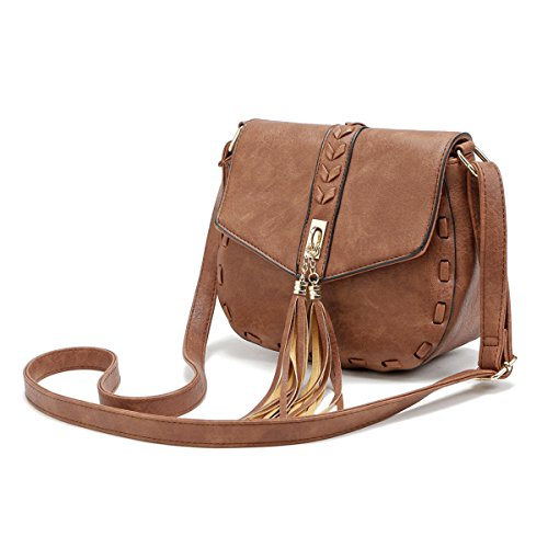Adjustable Shoulder body Cross Strap Tassel Smilecoco Purse Women Small Bags Shoulder Coffee Bags X5wZqC