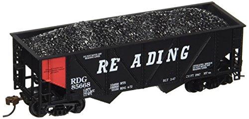 729621 36' Hopper w/Coal Reading Orange Panel HO