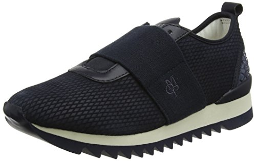O'Polo 501 Bleu Marc Navy Abricot Baskets 80114413501103 Black Sneaker Femme d66R1W
