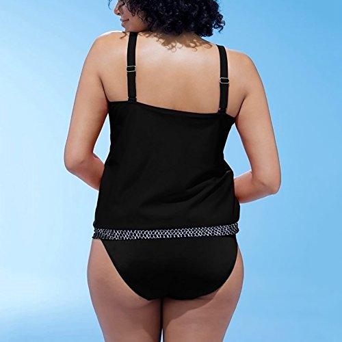 iBaste 2017 neu Damen Sexy modern Großformat Einfarbig Stoffdruck passend Hosenträger Badeanzug Bikini-Sets