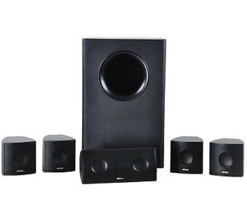 ELTAX Cinéma 5.1 - negro - Pack de altavoces 5.1 Home Cinéma ...