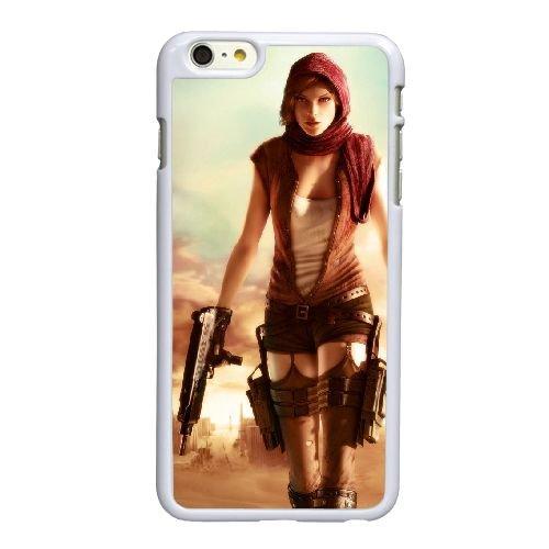 B6I72 Resident Evil 6 A2Y4PI coque iPhone 4.7 pouces Cas de couverture de téléphone portable coque blanche XE1TPQ0KQ